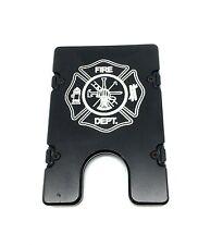 BilletVault Wallet Aluminum RFID protection Fire Department