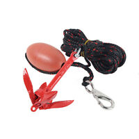 Kayak Folding Anchor Kit with 7.5m Rope Bag 0.7kg