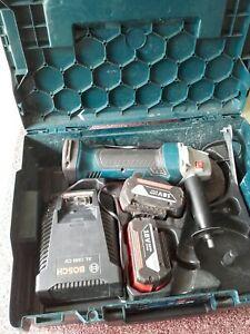 Bosch Akku-Winkelschleifer GWS 18-125 v-li Professional 2 x 3.0 ah akku 18V