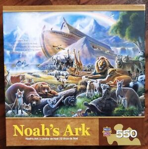 """NEW/SEALED """"Noah's Ark"""" Jigsaw Puzzle  550 pieces"""