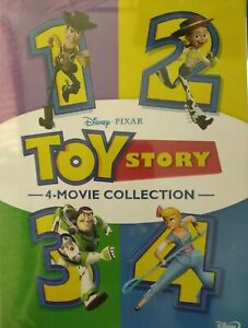 Toy Story 4 Movie Collection 1 2 3 4 DVD Boxed Set Brand New and Sealed