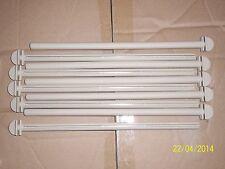 """10 X 12 """"PLASTICA polimero torsione su posatoi per gabbia e voliera uccelli"""