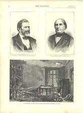 1871 incisioni una shell BOULEVARD Port Royal Paris generale SCHENK EB Washburn