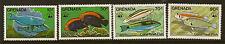 GRENADA: 1984 WWF Coral Reef Fish set  SG1334-7 unmounted mint