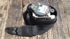 AUDI A6 C6 FRONT RIGHT DRIVER SIDE BLACK SEAT BELT 4F0857706A