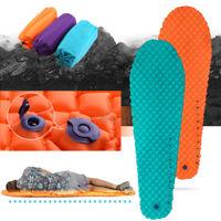 Ultralight Sleeping Pad Inflatable Air Mattress Camp Beach Outdoor Tent Mat JS