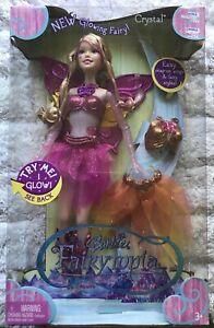 Barbie ~ Fairytopia ~ Crystal ~ Glowing Fairy ~ Brand new in box