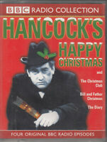 Hancock's Happy Christmas 2 Cassette Audio Book 4 BBC Radio Episodes Comedy