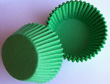 GREEN CUPCAKE OR MUFFIN BAKING CUPS - pack of 50