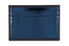 Paul Smith Wallet - Blue Foil Credit Card Holder Case / Ex-display/ RRP:£95