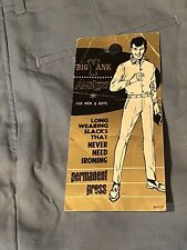 Vintage Big Yank Trousers Nwt Pants Men's 29x31