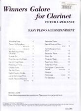 WINNERS GALORE Clarinet Piano Accomps Lawrance
