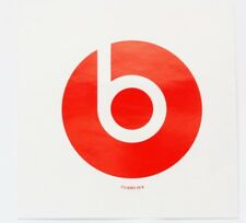 3 inch Vinyl Decal Sticker from Beats by Dr Dre Headphones RED - 775-00001-00-B