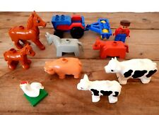 LEGO X4 New White Cattle Cow Skull with Bar 1L Part #13695 ~~no Horns~~