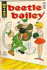 Beetle Bailey #59, King Comics, June 1967 - Mort Walker 12¢ cover