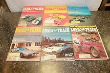 COMPLETE ROAD & TRACK MAGAZINE JANUARY-DECEMBER 1977 (OAK9677-1 LOC.DDD #476)