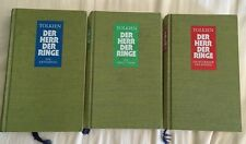 Tolkien Lord Of The Rings 1966 2nd Edition 1st Printing 3-vol German Cloth HC