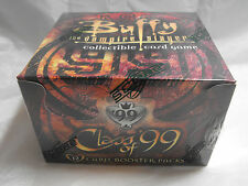 BUFFY THE VAMPIRE SLAYER CCG CLASS OF 99 SEALED BOOSTER BOX OF 36 PACKS