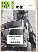 BMC User Oct-Nov 1968 EA350 Laird Mini Moke Nuffield Tractor Westfield Autocar +