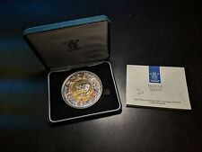 Battle of Waterloo 175th Anniversary Commemorative Sterling Silver Medal