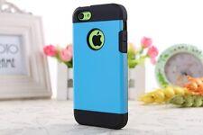 IPhone 4/4s, funda bumper, protección de color azul cian