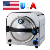 14L Dental Autoclave Steam Sterilizer Medical Sterilizition Stainless steel #304
