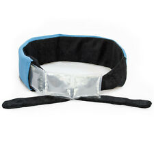 Icy Cools Ice Bandana - Cooling Headband or Neck Ice Wrap - Blue/Black NEW
