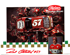 NASCAR Jimmy Spencer/Rod Osterlund autographed hero card