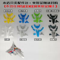 3D DIY Spoiler body KIT IDW set FOR Siege Starscream Thundercracker Skywarp