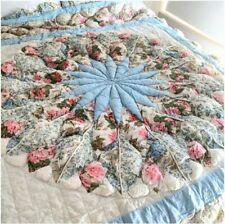 New ListingSunham Bedding Dalia Reversible Puff Patchwork Quilt King Vintage Nib