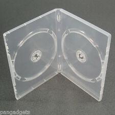 Custodia DVD Amaray ORIGINALE chiaro fianco a fianco-doppia x 15