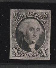 USA 1847 Scott # 2 MNG large margins see descrption!!