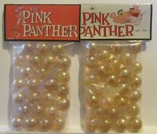 2 Bags Of The Pink Panther Cartoon Promo Marbles
