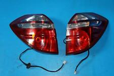 JDM Subaru Legacy Outback Kouki OEM Red & Clear Tail Lights Lamps 2005-2009