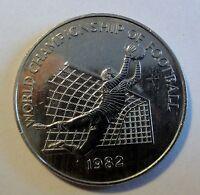 Karibik - Jamaica $ 1 (one)  Dollar 1982 - zur Fußball WM -  (2008