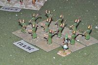25mm biblical / assyrian - slingers 12 figures - inf (12236)