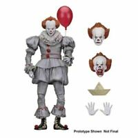 "NECA IT - 7"" Scale Action Figure - Ultimate Pennywise (2017) For Collection Gift"