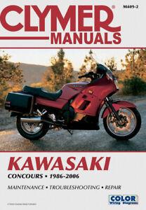 CLYMER Repair Manual for Kawasaki ZG1000 Concours/GTR1000 1986-2004