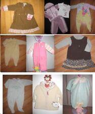 Lot vêtements fille 12 mois - 1 an pyjamas, jogging, robes, hauts - 15 pièces en