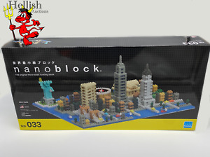 nanoblock New York costruzione mini blocchi mattoncini tipo LEGO City nano block