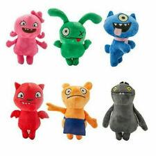 6pcs Ugly Dolls UglyDoll Ox Moxy Uglydog Babo Soft Plush Stuffed Doll Toy Figure