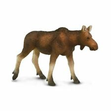 Safari Ltd. Moose Cow Wildlife Replica Figure Toy 180829 New Free Shipping