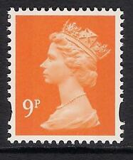 GB 2005 sg Y1675 9p Yellow-Orange photogravure 2 bands MNH