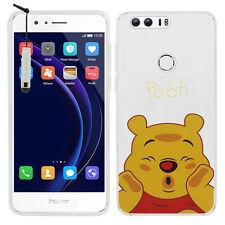 "Coque Etui Housse Silicone TPU Ultra-Fine Winnie the Pooh Huawei Honor 8 5.2"""
