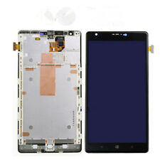 Black OEM LCD Display Touch Screen Digitizer Frame Assembly For Nokia Lumia 1520