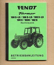 FENDT Farmer 106 S  106 LS Turbomatik Schlepper