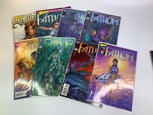 Vintage Fathom Comics #0-#5 New