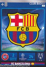 2014/15 Adrenalyn Xl Champions League Fc Barcelona Tarjeta No. 7