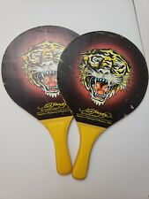 Racket/Paddle Ball Paddles, Ping Pong, Ed Hardy by Christian Audigier