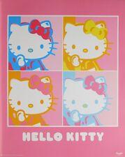HELLO KITTY POSTER (40x50cm) POPART NEW LICENSED ART